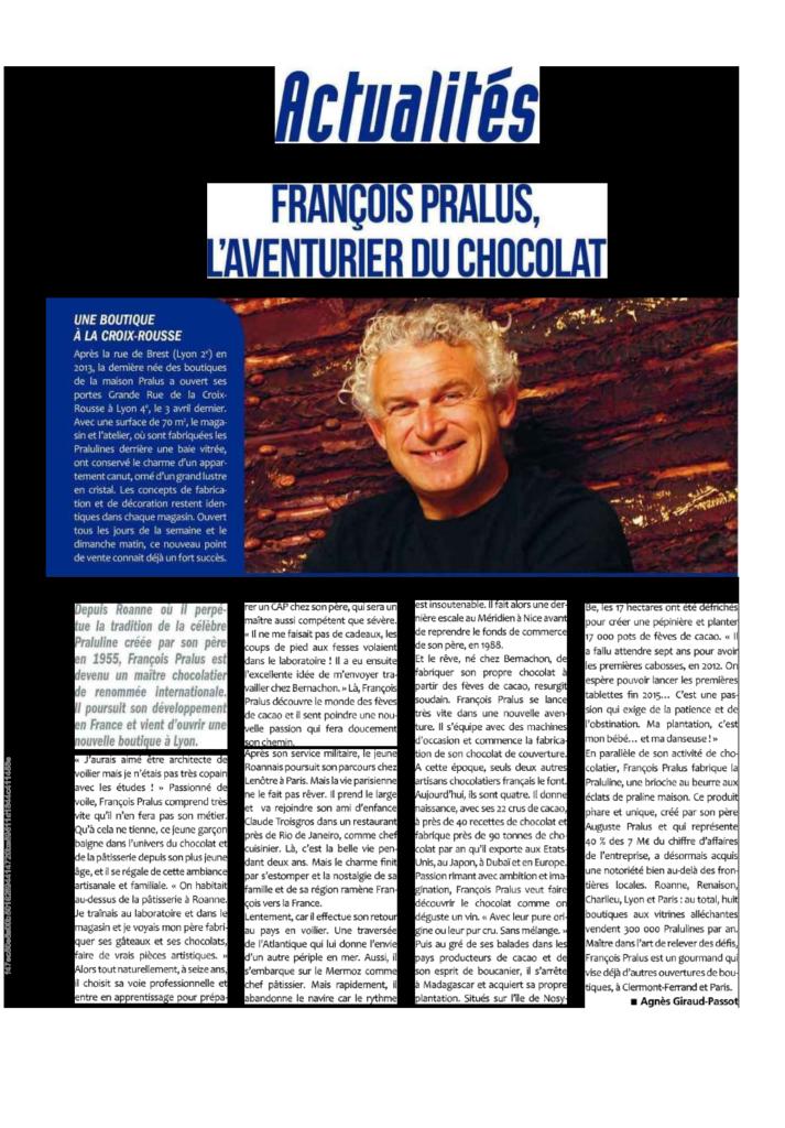 Portrait de François Pralus